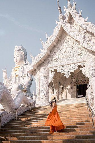 affordable honeymoon packages thailand girl near dragon castle