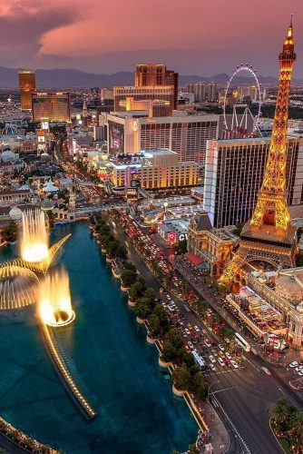 best honeymoon destinations las vegas usa kolor flow via instagram