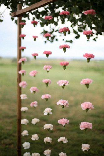 cheap wedding decorations flower wall from rose flowers carnation jamie fischer photography