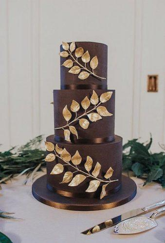 colored wedding cakes chocolate cake gold brunch panachecakedesign