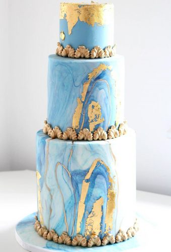 colored wedding cakes tender blue cake elizabethscakeemporium