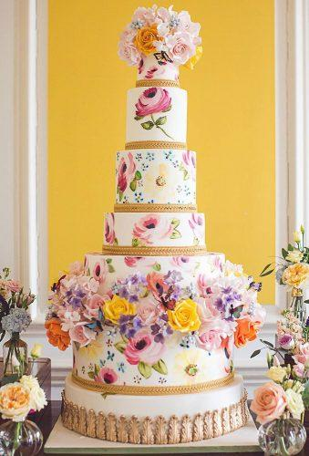 colored wedding cakes watercolor wedding cake elizabethscakeemporium