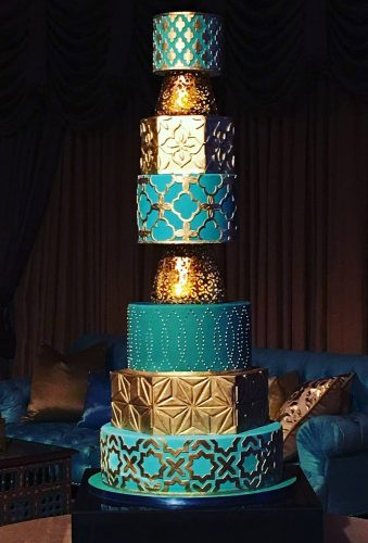 colored wedding cakes wonderful blue cake thebutterend