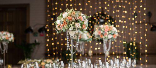 elegant wedding decor featured