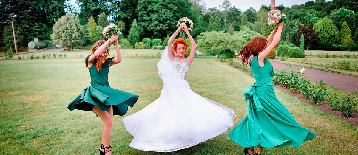 green bridesmaid dresses forest and emerald knee length long featured