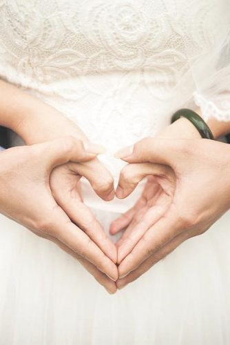 heart wedding photos bride and groom hands spotlightmusicla via instagram
