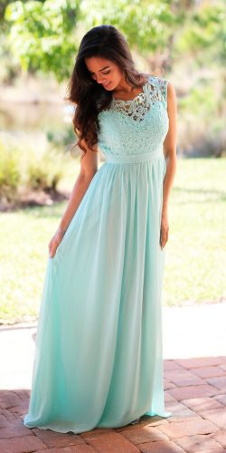 mint bridesmaid dresses long straight lace illusion sweetheart neckline saved by the dress