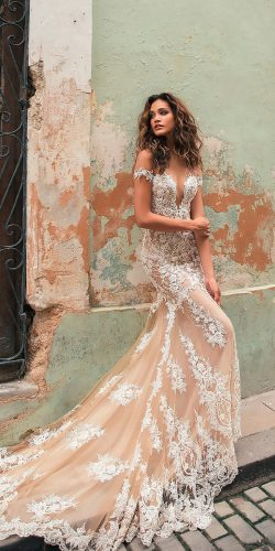 off the shoulder wedding dresses trendy lace sweetheart neck with plunging v neck julie vino