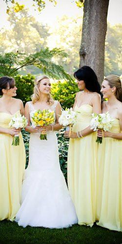 pastel light yellow bridesmaid dresses nikki maeyer
