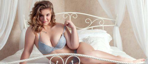 plus size bridal lingerie featured