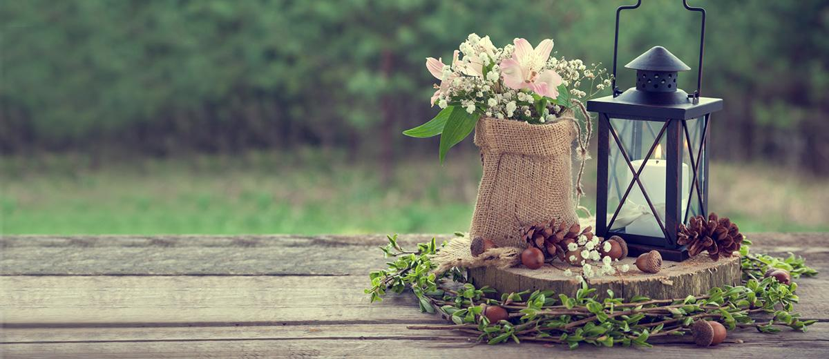 rustic wedding centerpieces featured