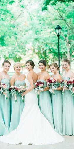 strapless sweetheart long mint bridesmaid dresses jenni grace