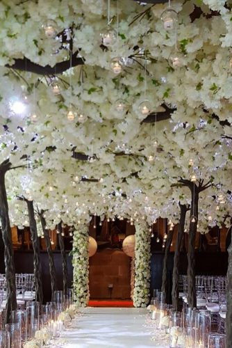 wedding ideas with candles hanging wedding arch redfloral via instagram