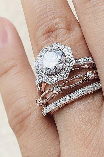 wedding rings for women floral unique diamond simongjewelry via instagram