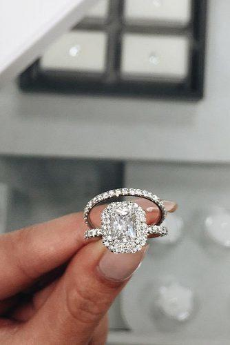 wedding rings for women gem diamond alyssaannajewelry via instagram