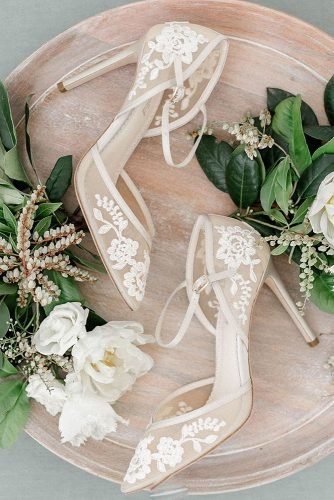 wedding shoes with heels lace bellabelleshoes
