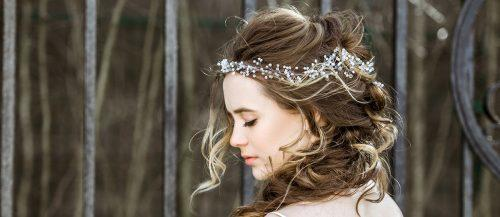 bridal hair accessories featured