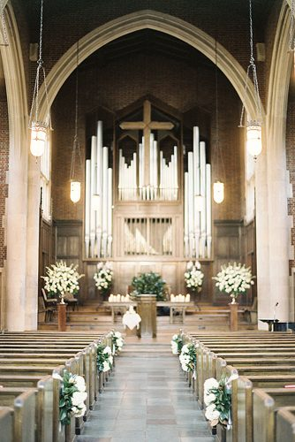 church wedding decorations the hall is decorated with white flowers jen huang photo