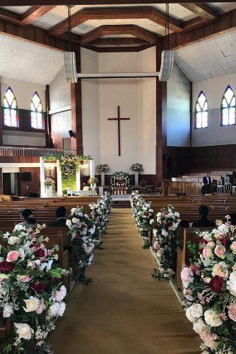 church wedding decorations with vintage roses adlweddings