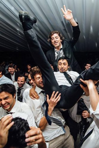 funny wedding pictures groomsmen dance maria paz alvarado