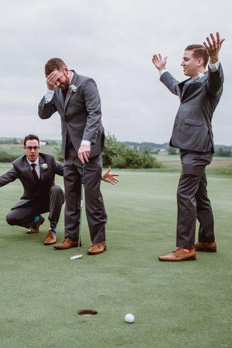 funny wedding pictures in sport theme nicole payzant photography