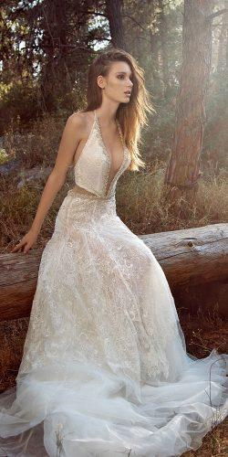 gala galia lahav wedding dresses 2018 sexy a line deep v neckline with train