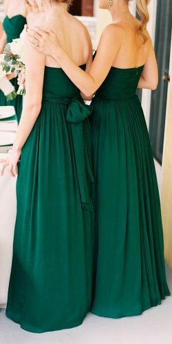 green bridesmaid dresses long open back strapless virgil bunao