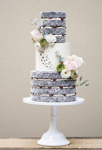 mini wedding cakes ristic cake with flower fortytwocakes