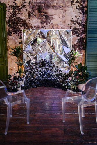 mirror wedding ideas mirror altar makemywedd via instagram