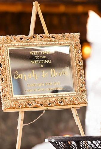 mirror wedding ideas wintage sign chalk that chalk