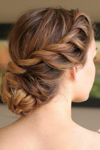 romantic bridal updos wedding hairstyles romantic with twisted belles and brides