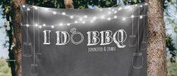 30 Rustic Barbecue BBQ Wedding Ideas