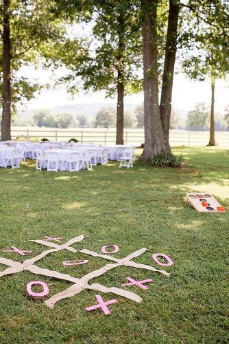 rustic barbecue bbq wedding playing on the green lawn jessica sparks photography