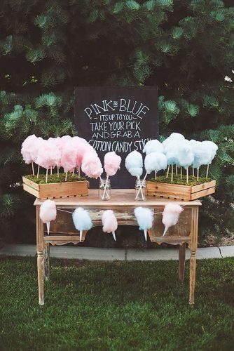 rustic barbecue bbq wedding simple wooden table with pink and blue sweet cotton wedding planner via instagram