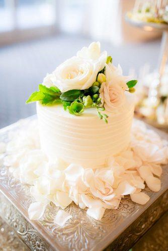 small wedding cakes small tender cake Clove and Kin Photography