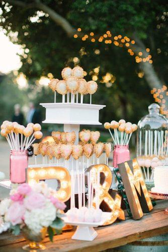 wedding dessert table ideas vintage modern table letters thisloveofyours