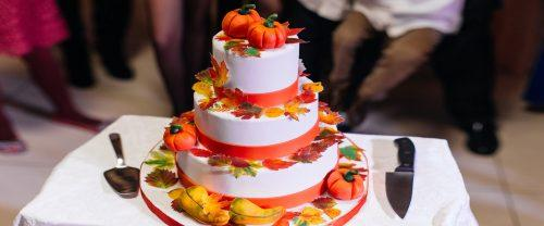 wedding fall cakes featured