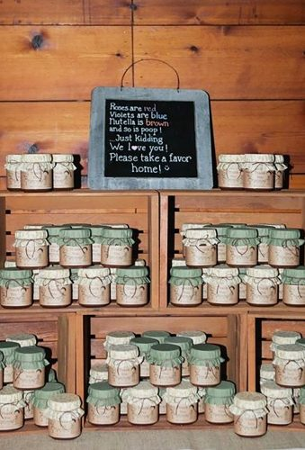 wedding favor ideas jars for wedding joshgruetzmacher