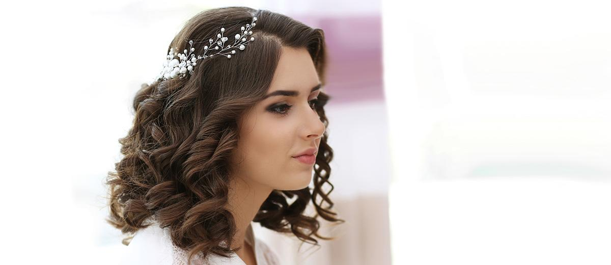 34 Captivating Wedding Hairstyles For Medium Length Hair