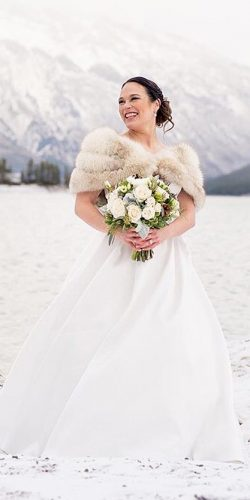 winter wedding dresses outfits a line simple outdoor anne barge
