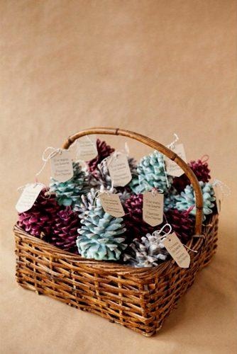 cheap wedding favors baskets with bumps mintfavorsandmore via instagram
