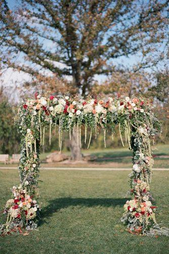 country wedding greenery wedding arch audra wrisley photography