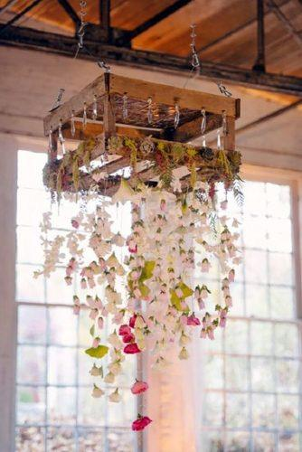 country wedding suspended wooden pallets with flowers brooke allison photo