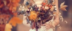 36 Fall Wedding Bouquets For Autumn Brides