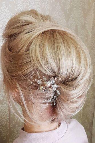 fall wedding hairstyles blond updo lidiya byt