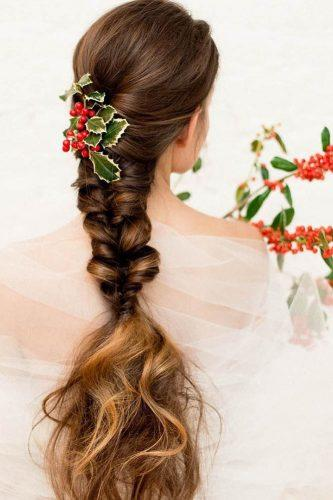 fall wedding hairstyles gorgeous braid long facetimebeauty