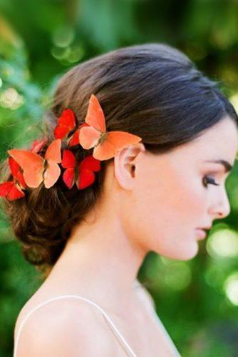 fall wedding hairstyles gorgeous with butterflies josevilla