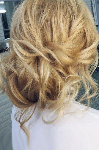 fall wedding hairstyles messy updo geller makeupstyle