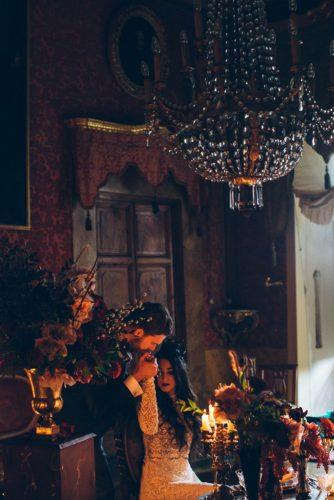 halloween wedding ideas bridal photo shoot intimate candle lights atmosphere stefano santucci