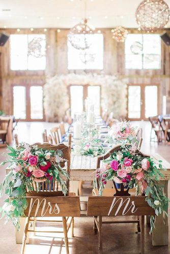 loft decorating ideas with wooden furniture chairs decorated with flowers lindsey mueller photography via instagram